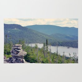 inukshuk - Parc National de la Gaspésie (Québec, Canada) Rug