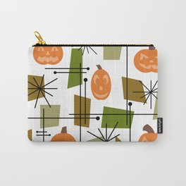 Halloween Mid Century Modern Carry-All Pouch