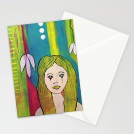 tears of black Stationery Cards