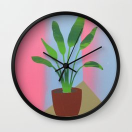 Palm Room Wall Clock