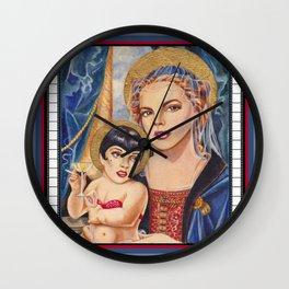 Judy, Judy...Liza Wall Clock