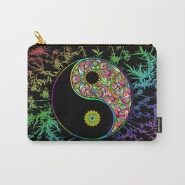 Yin Yang Bamboo Psychedelic Carry-All Pouch