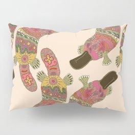 duck-billed platypus linen Pillow Sham