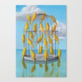 Free Birds Canvas Print