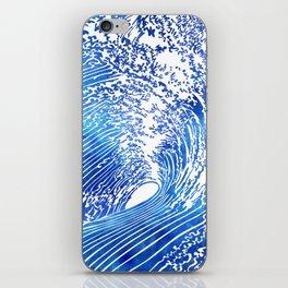 Blue Wave II iPhone Skin