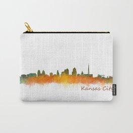 Kansas City Skyline Hq v2 Carry-All Pouch