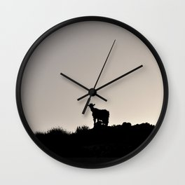 The Goat of Chania Wall Clock