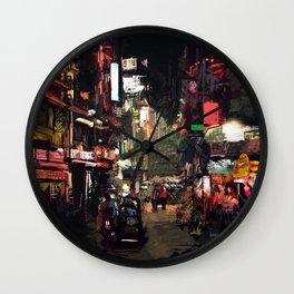 Calle x GV Wall Clock