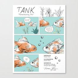 Tank: Remembering Phil Canvas Print