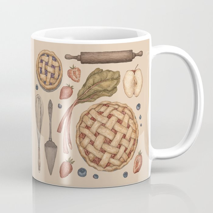 Pie Baking Collection Coffee Mug