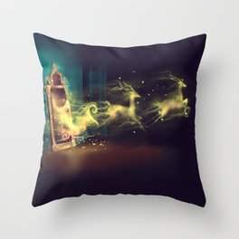 Christmas Mirror  Throw Pillow