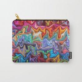 rainbow blobs Carry-All Pouch