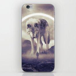 aegis II   wolf iPhone Skin