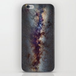 The Milky Way: from Scorpio, Antares and Sagitarius to Scutum and Cygnus iPhone Skin