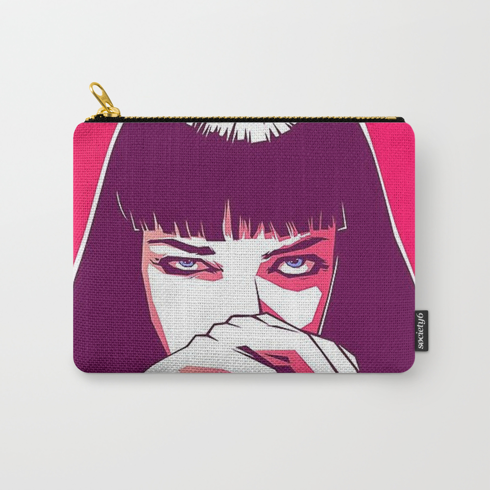 Pulp Fiction Mia Wallace Carry-all Pouch by Prodesigner2 CAP8670977