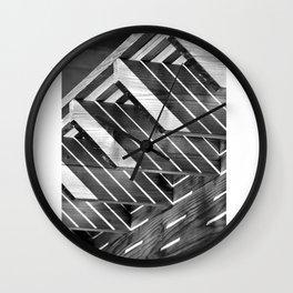 Decisive Moment -Light & Shadow Wall Clock