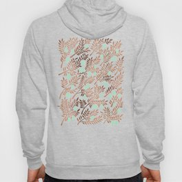 Olive Branches – Rose Gold & Mint Hoody