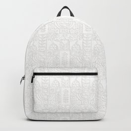 Swedish Folk Art - Subtle Backpack