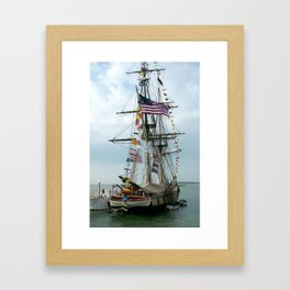 tallship Framed Art Print