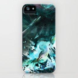 Bursting into Dream Realm iPhone Case