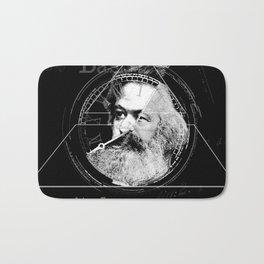 The Time of Marx Dark Bath Mat