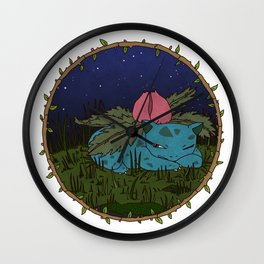 Ivysaur Wall Clock