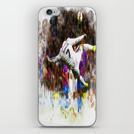Cristiano Ronaldo - THE TRADE MARK KICK iPhone Skin