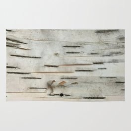 Birch Tree Bark Rug