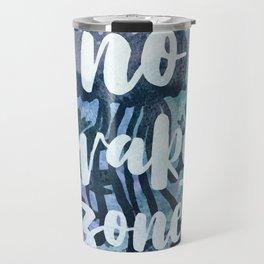 No Wake Zone Travel Mug