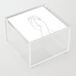 Never Let Me Go II Acrylic Box