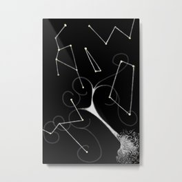 Astral Projector Metal Print