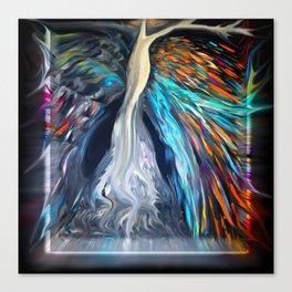 Bright Life Tree Canvas Print