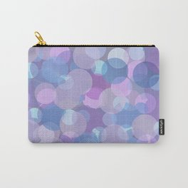 Pastel Pink and Blue Balls Carry-All Pouch