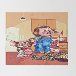 Death Of A Gremblin Throw Blanket