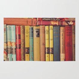 Vintage Books Rug