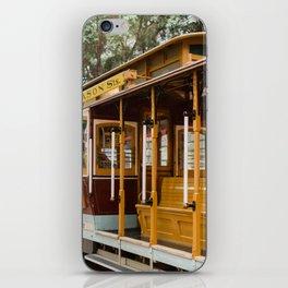 San Francisco Cable Car iPhone Skin