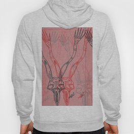 You Say That You Hear Me Only When I Touch You With My Hands PT.2 Hoody