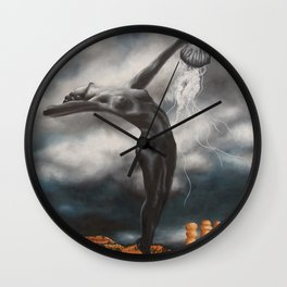 Symbiosis (And now that your God has high cholesterol)  Wall Clock
