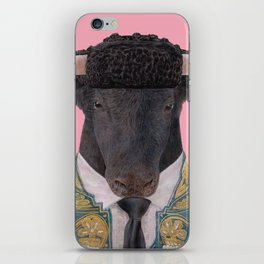 Spanish Bull iPhone Skin