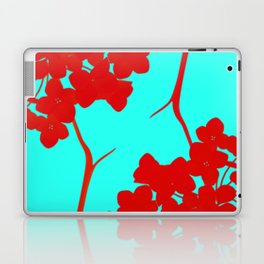 hydrangea shape Laptop & iPad Skin