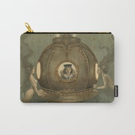 """The Bathysphere"" by David Delamare Carry-All Pouch"