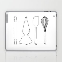 Baker Baking Tools - White Laptop & iPad Skin