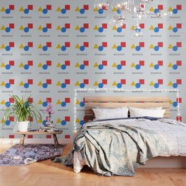 Bauhaus - Geometric Art Wallpaper