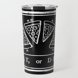 Eat, or Die (black) Travel Mug