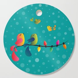Fly High, My Babies - Merry Christmas Cutting Board
