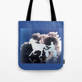 Chariots of Fire - Harness Racing Tote Bag