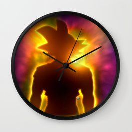 Spirit of a Saiyan Wall Clock