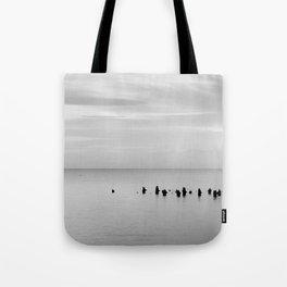 BEACH DAYS XXVIII BW Tote Bag