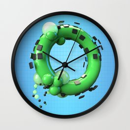 Armored O Wall Clock