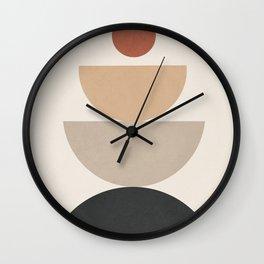 Geometric Modern Art 31 Wall Clock